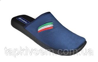 Тапочки мужские домашние Inblu AC-2B( синие)