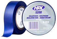 Лента ПВХ изоляционная HPX 5200 19 мм х 10 м синяя (пленка) IL1910