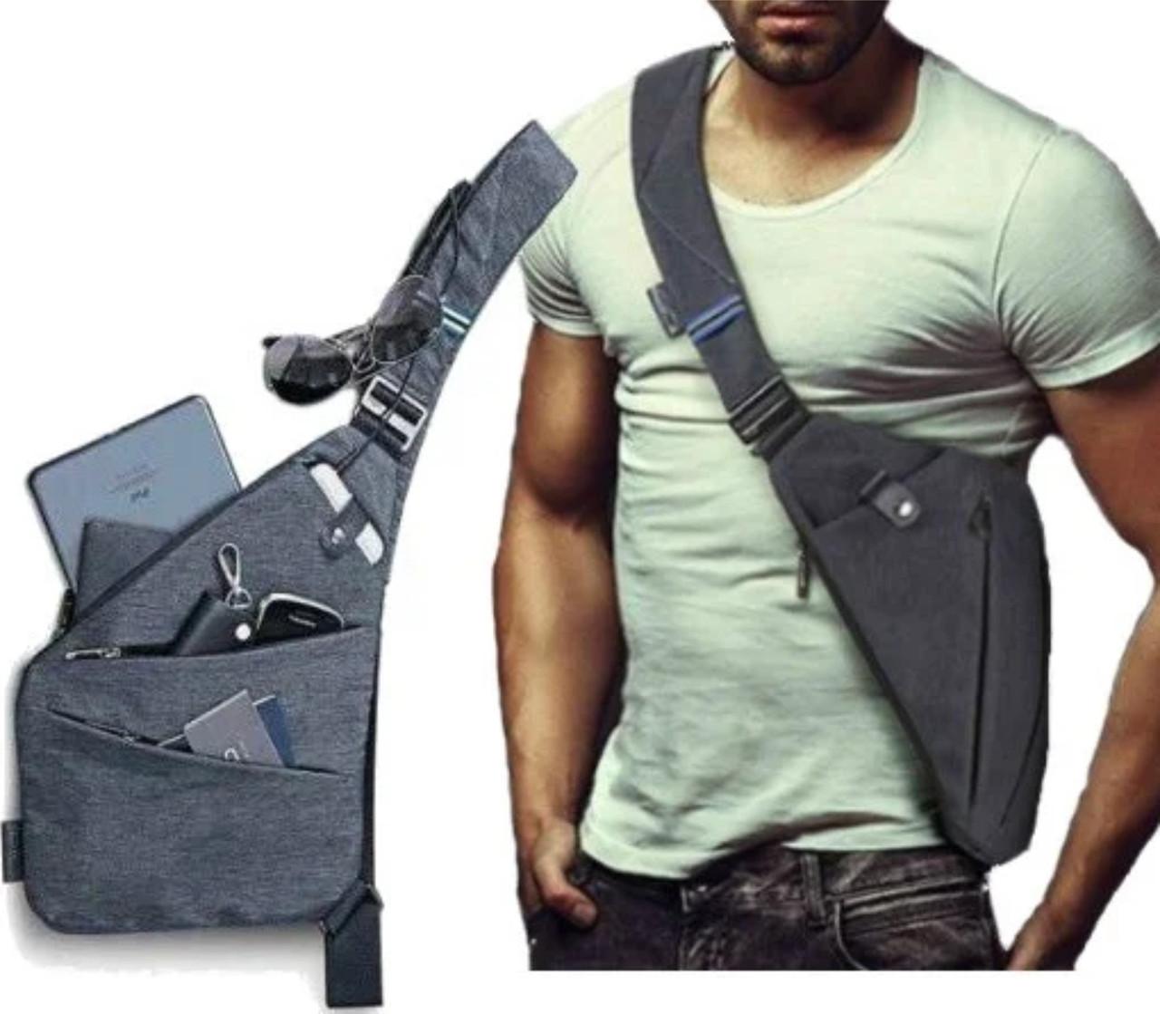 Мужская водонепроницаемая сумка Crossbody
