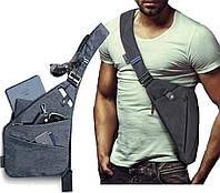 Мужская водонепроницаемая сумка Crossbody, фото 1