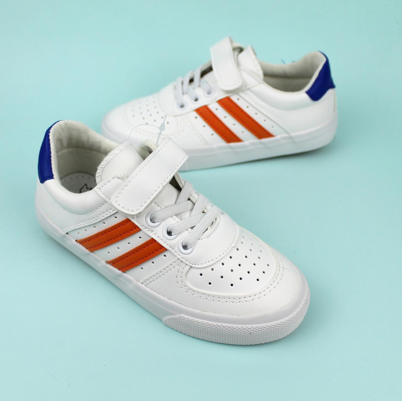 Детские белые слипоны кроссовки для мальчика тм Том.м размер 31,33,34