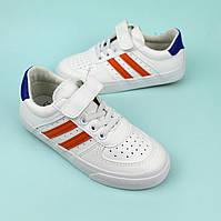Детские белые слипоны кроссовки для мальчика тм Том.м размер 31,32,33,34