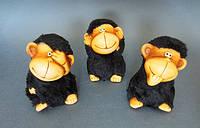 Фигурки из керамики Три обезьяны
