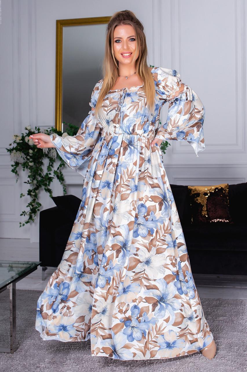 Длинное платье 05161