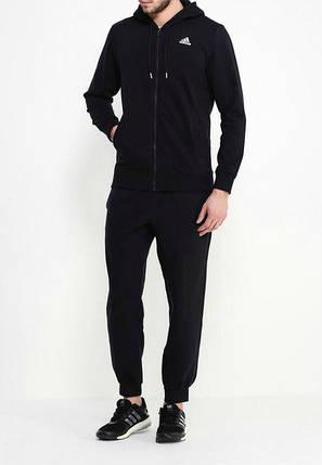 Спортивный костюм Адидас, мужской костюм Adidas, черный костюм, трикотажный, фото 2
