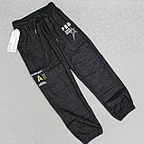 """Брючки детские демисезонные (6-12 лет). """"Золото"""". Детские спортивные штаны хлопковые, фото 2"""