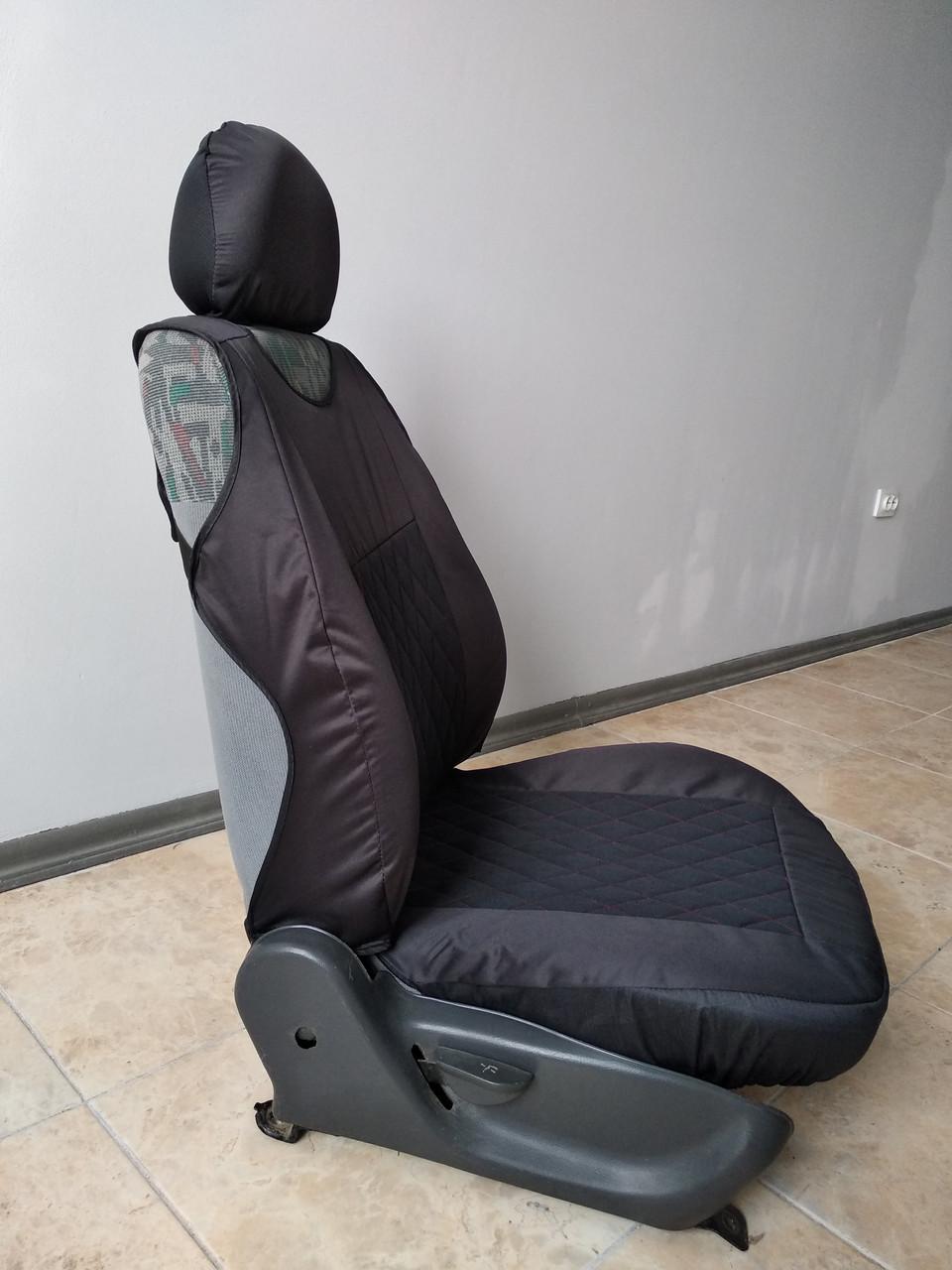 Майки LUXE на передние сиденья авто 1+1