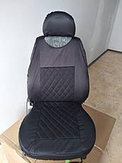 Майки LUXE на передние сиденья авто 1+1, фото 3