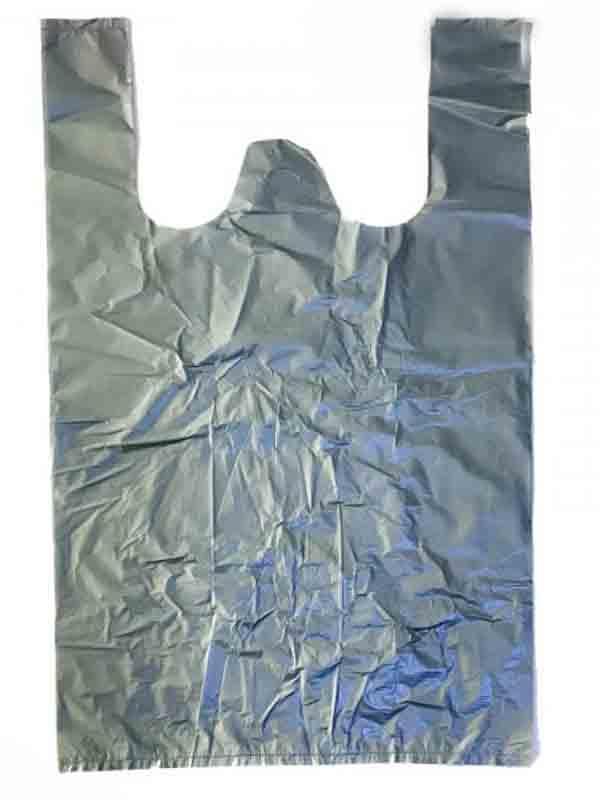 Пакет майка 31х50 Серый 100шт
