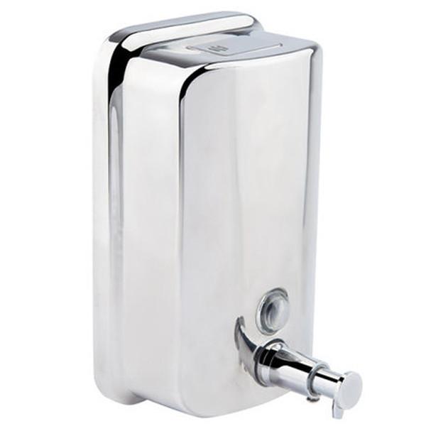 Дозатор для жидкого мыла 800 мл металл Potato P405-8 хром