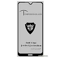 Защитное стекло 5D Full Glue для Xiaomi Redmi Note 8T Black (Screen Protector 0,3 мм)