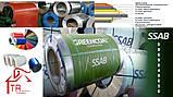Сталь оцинкованная РЕ   0,45 мм   RAL    Рулон, фото 7