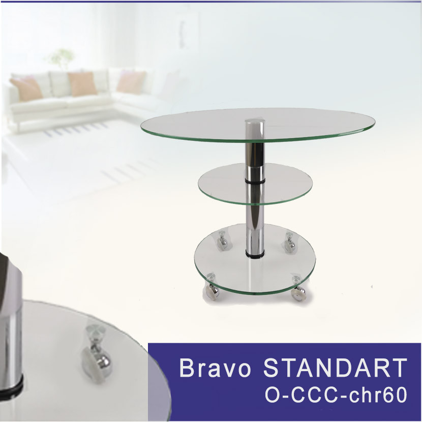 Журнальный стол Bravo O ccc chr60
