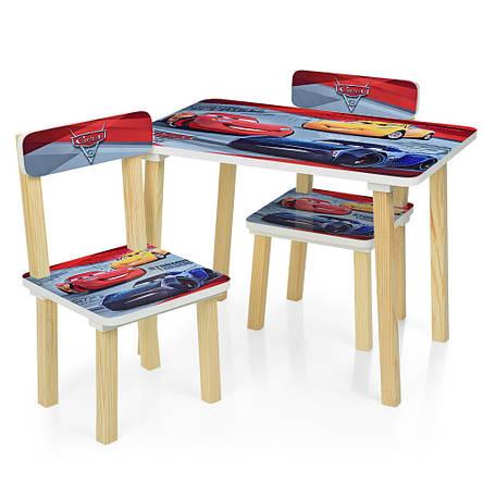 Детский столик и стульчики расцветки для мальчиков, фото 2