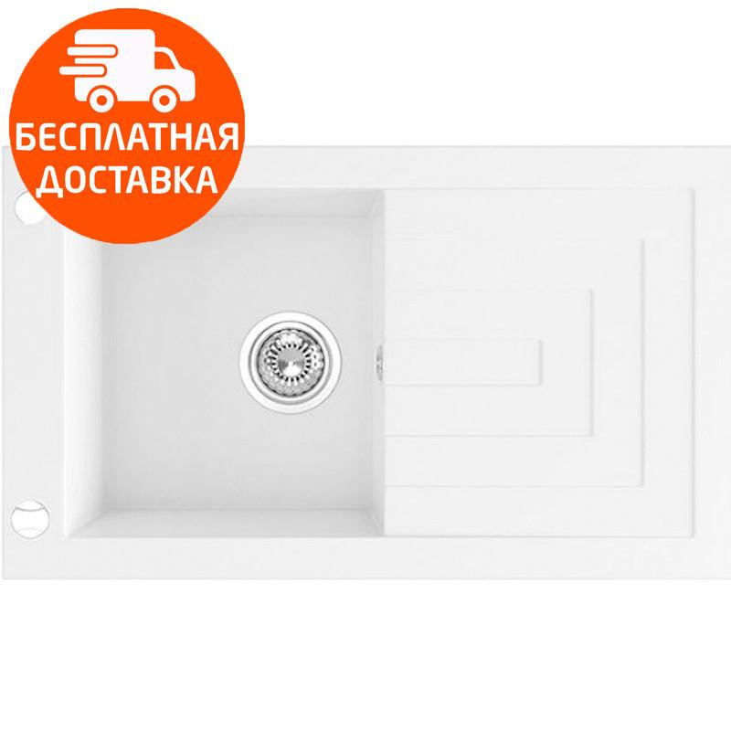 Кухонная мойка гранитная Laveo Jawa SGW_611T белый
