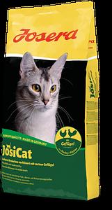 JosiCat Geflügel 10 кг. Корм для котов с птицей