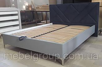 Кровать Париж 180*200 в шпоне, фото 3