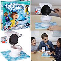 Игра Toilet Trouble Hasbro Брызгающийся Унитаз