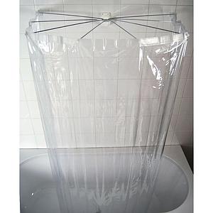 Карниз-зонтик для ванны Ridder 582.00 прозрачный