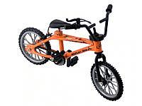 Фингербайк велосипед для рук Mountain с тормозами 8 см х 11 см х 3 см Оранжевый