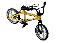 Фингербайк велосипед для рук Mountain с тормозами 8 см х 11 см х 3 см Желтый