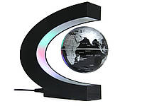 Глобус левитирующий LED  Черный