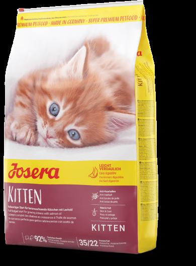 Сухой корм для котят, беременных и лактирующих кошек JOSERA Kitten 2 кг