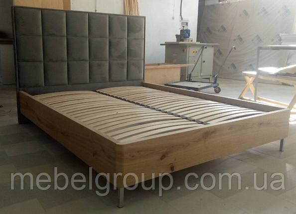 Кровать Детройт 160*200 в шпоне, фото 2