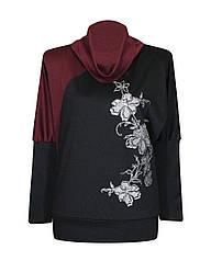Осенние женские туники кофты свитера