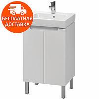 MODO комплект:шкафчик под умывальник 50 см+умывальник мебельный 50 см,белый (пол.)
