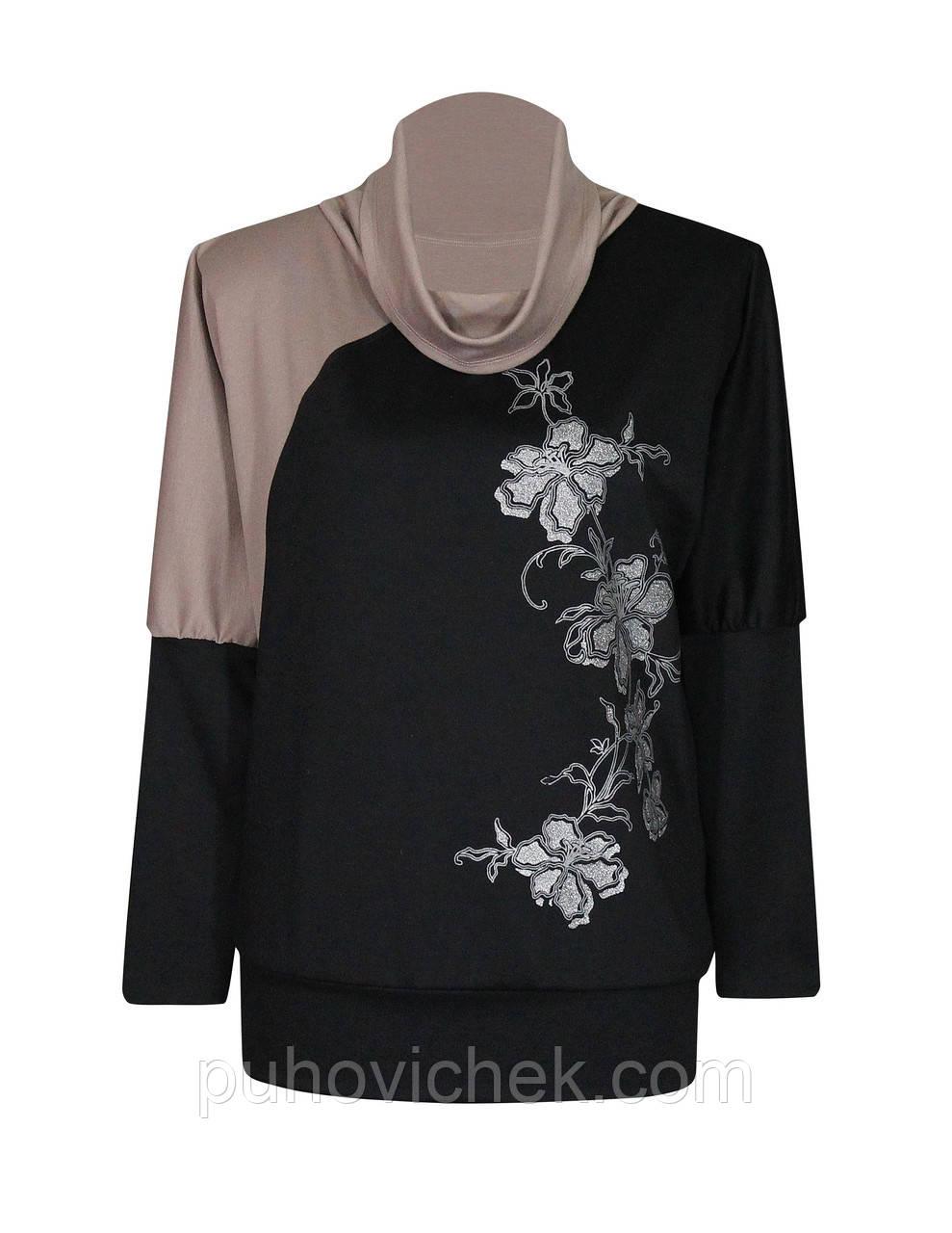 fbe1b1908e4 Женские свитера кофты больших размеров купить недорого интернет ...