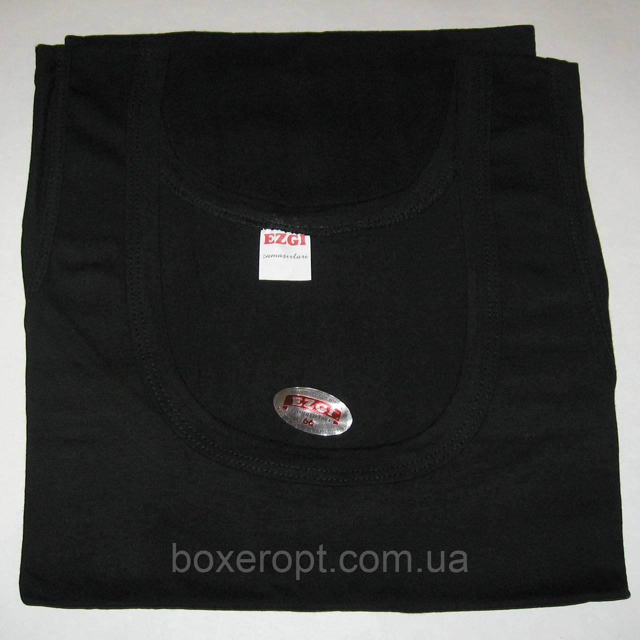 Мужские майки Ezgi - 31.00 грн./шт. (54-й размер, черные), фото 1