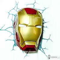 Настенный светильник Marvel Ironman POWERLUX