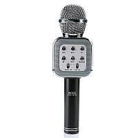 Беспроводной микрофон для караоке Wester WS-1818 с функцией изменения голоса Silver