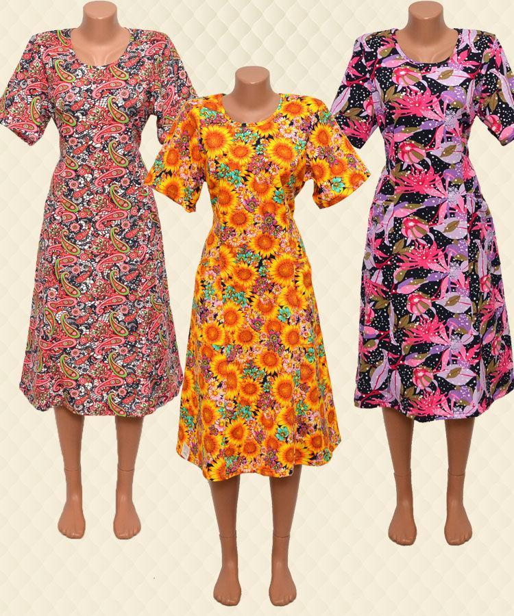 Платье женское на завязках реактив