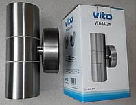 Садово-парковый фасадный светильник VITO Vegas 2A 240V 2*35W IP44