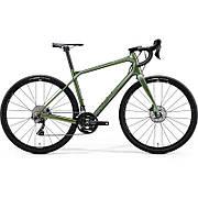 Велосипед MERIDA 2020 SILEX 7000 L MATTFOG GREEN(GLOSSY SILVER-GREEN)