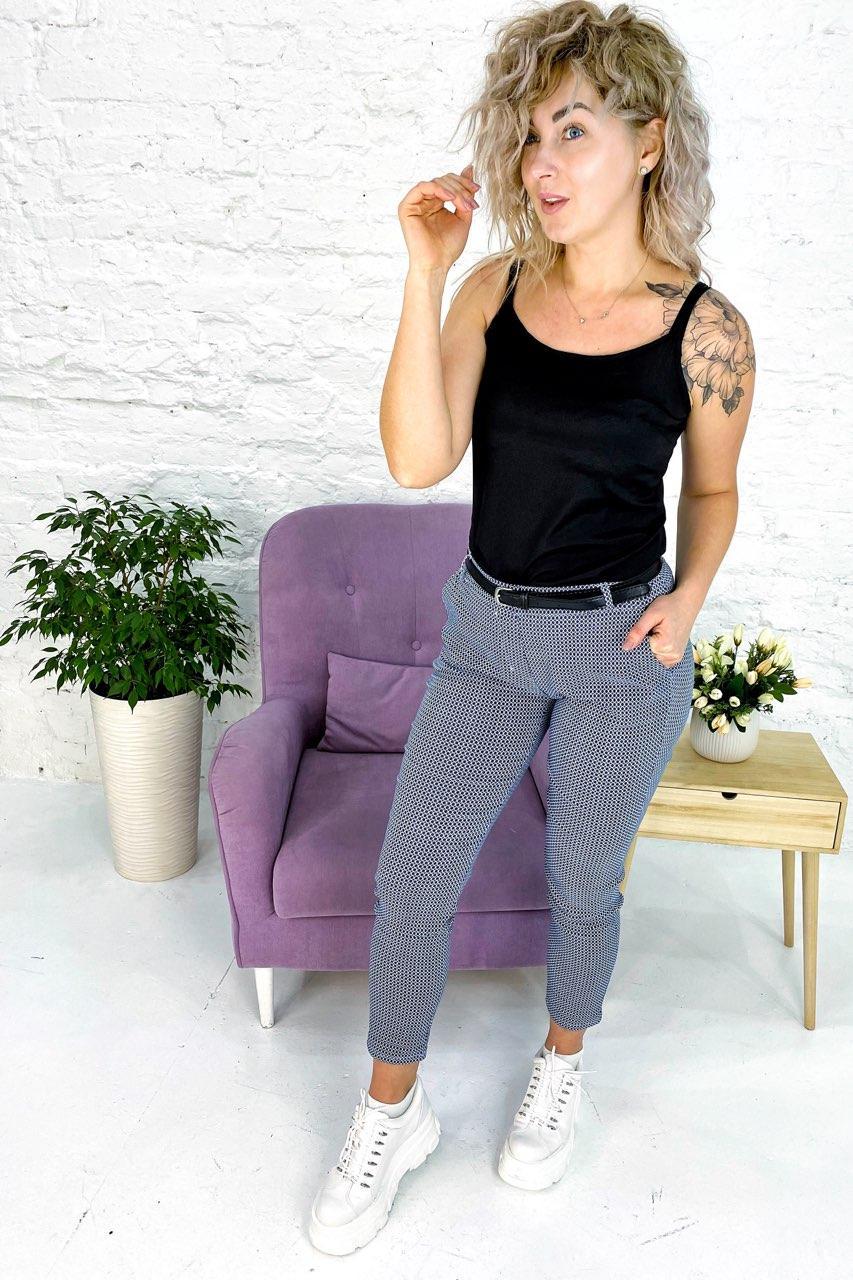 Штаны Fashion - синий цвет, XXL (есть размеры)