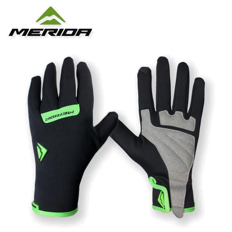 Тёплые велоперчатки Merida