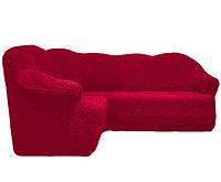 Чехол На Угловой Диван Без Оборки Универсальный Размер Цвет 221, фото 1