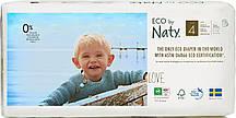 Органические подгузники трусики Eco by Naty трусики Размер 4 (от 8 до 15 кг) 36 шт