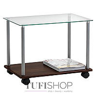 Стол кофейный GIVE, стеклянный (3610411)
