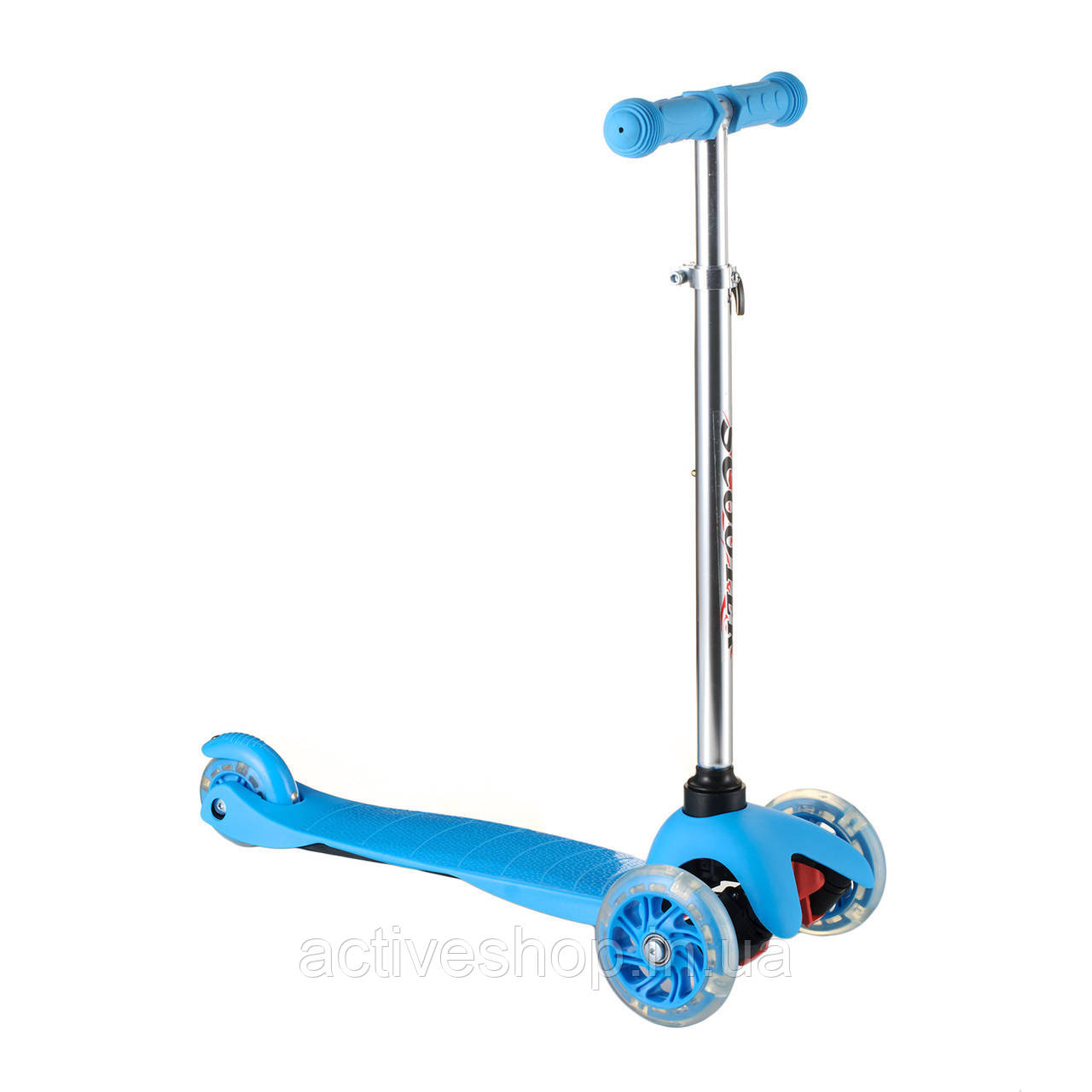 Самокат Scooter  синий