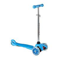 Самокат Scooter  синий, фото 1