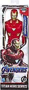 Фигурка Железный человек Мстители Финал 30 см Avengers Marvel Endgame Titan Hero Series Iron Man 12 Оригинал, фото 2