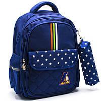Рюкзак ортопедический школьный для мальчиков Cappuccino Toys CT2113.277 синий