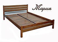 """Кровать деревянная двуспальная """"Мария"""" kr.mr3.1"""