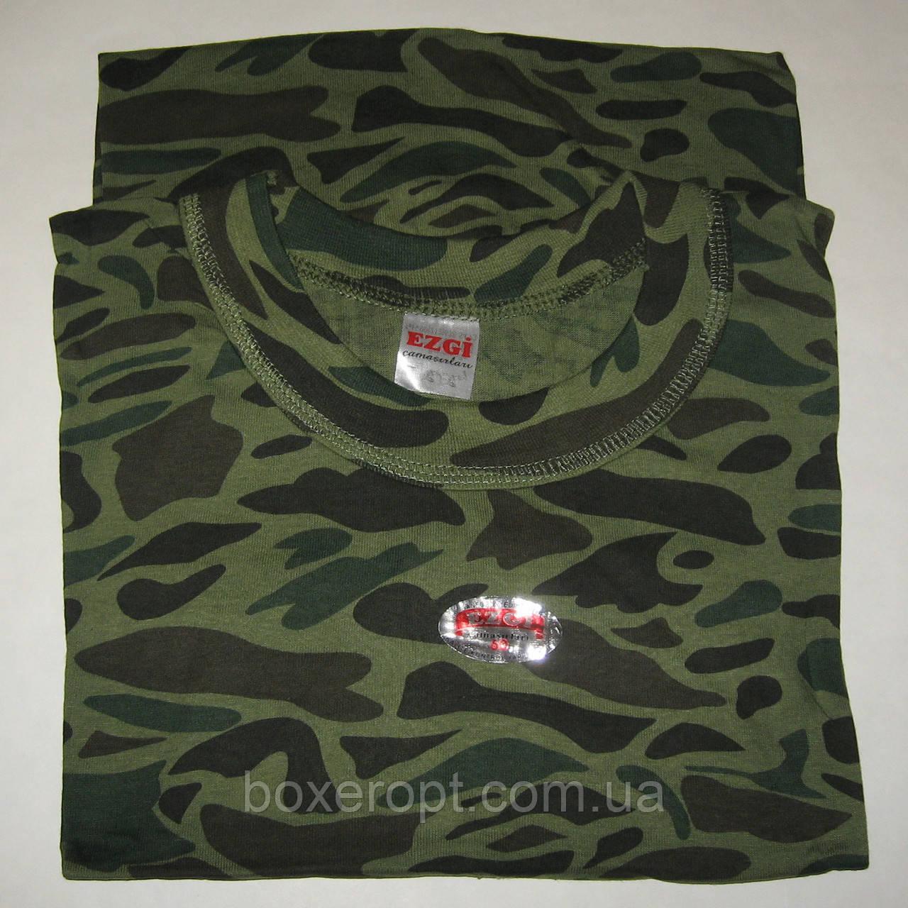 Мужские футболки Ezgi - 45.00 грн./шт. (56-й размер, хаки)