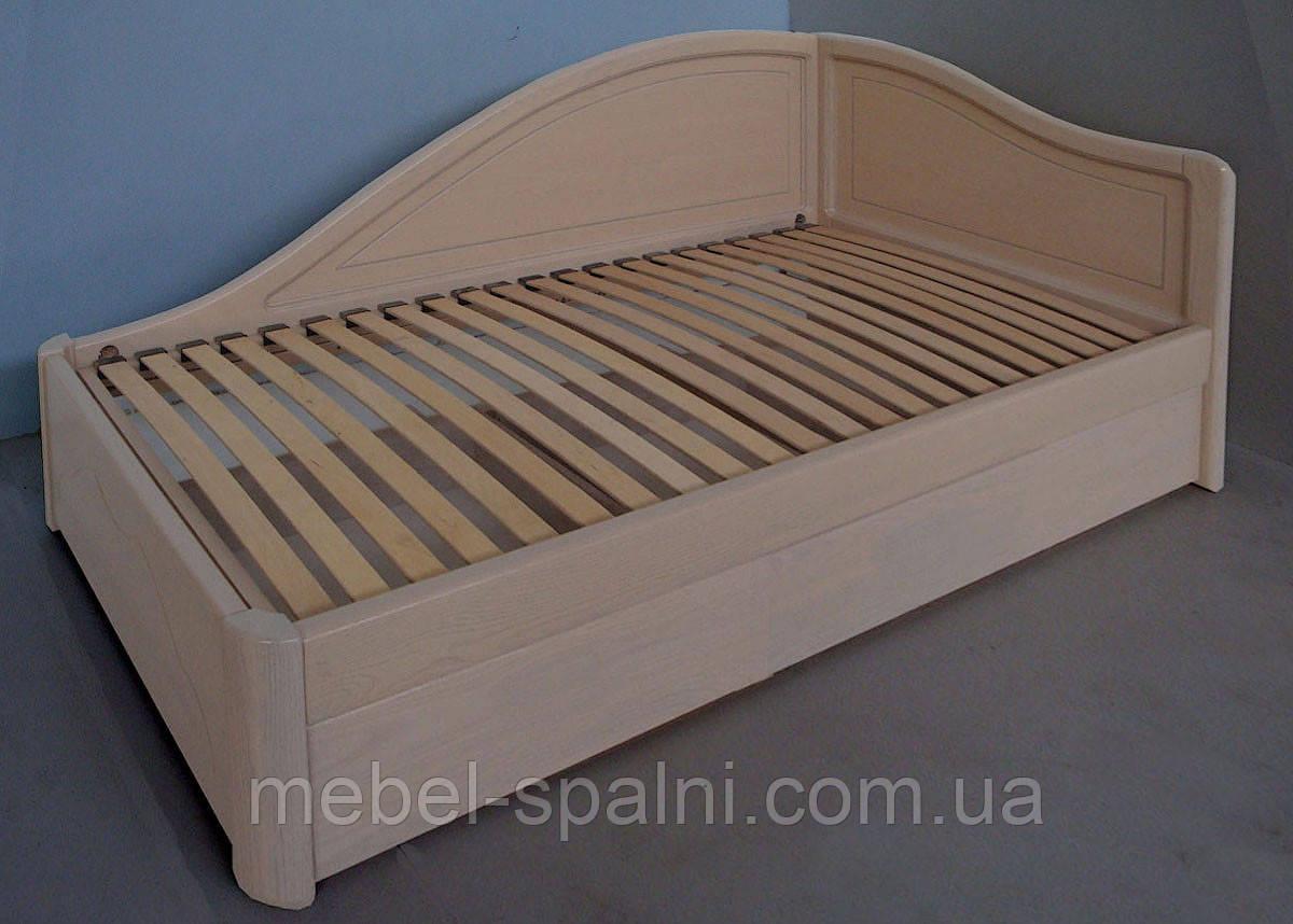 """Кровать деревянная полуторная с подъемным механизмом """"Анна+"""" kr.an7.2"""