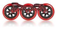 Запчасти Powerslide Megacruiser Frame Set, 3x125, Чёрно-красный